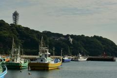 初夏の想い出 片瀬漁港
