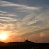 6月の夕焼け空