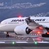 JAL787 ランウェイへの入場