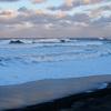 オホーツクの白波