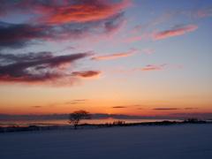 210225 オホーツクの夜明け