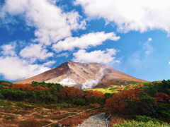 ザ・秋の旭岳