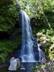美深 深緑の滝 その2