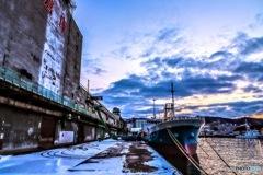 北の港 〜小樽第一埠頭 北日本倉庫