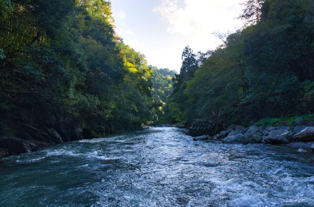 京都 清滝川