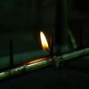 風前の灯(ともしび)~消えかけの蝋燭