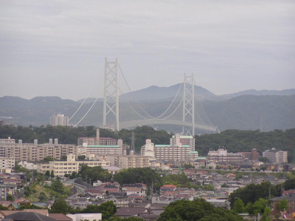 明石海峡大橋です。