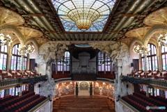 カタルーニャ音楽堂(1)