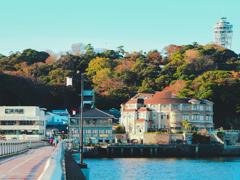 江ノ島の朝