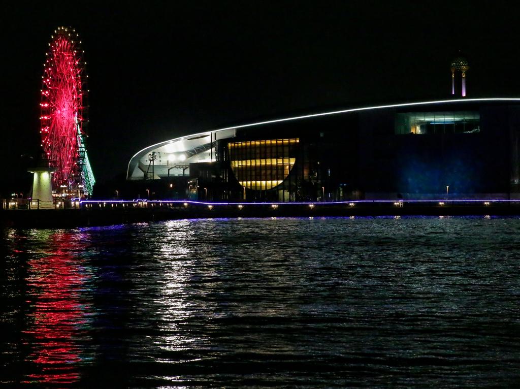 水族館と観覧車