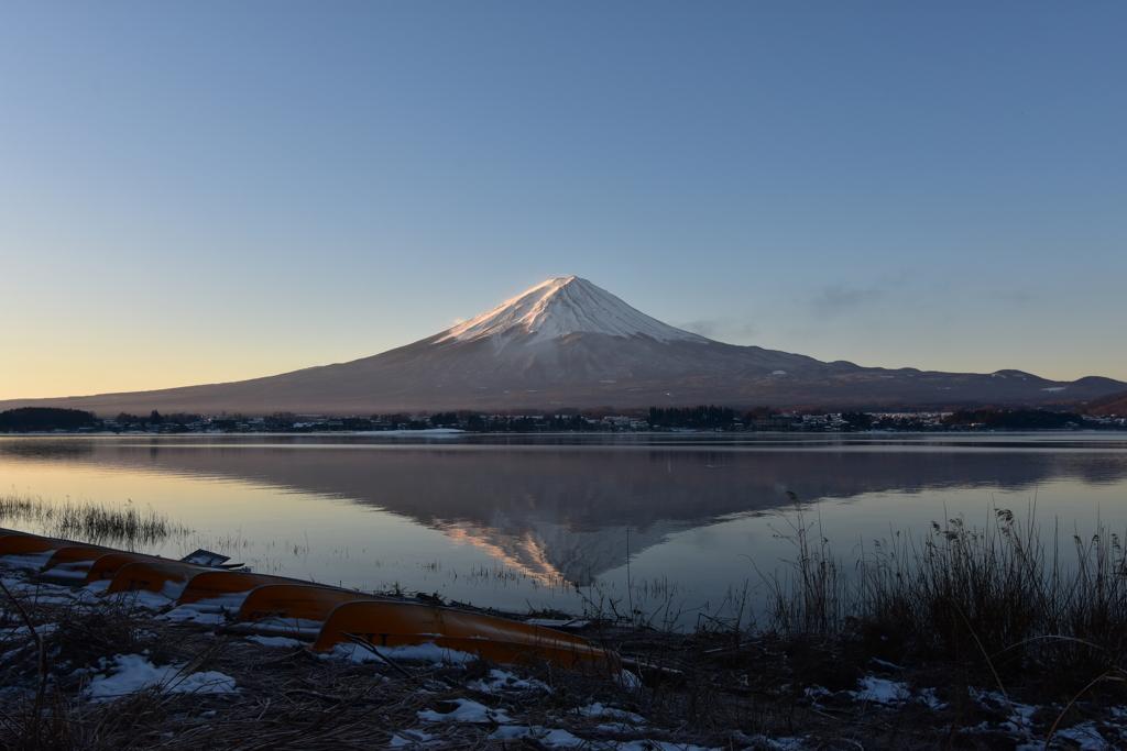 富士山リフレクション ②