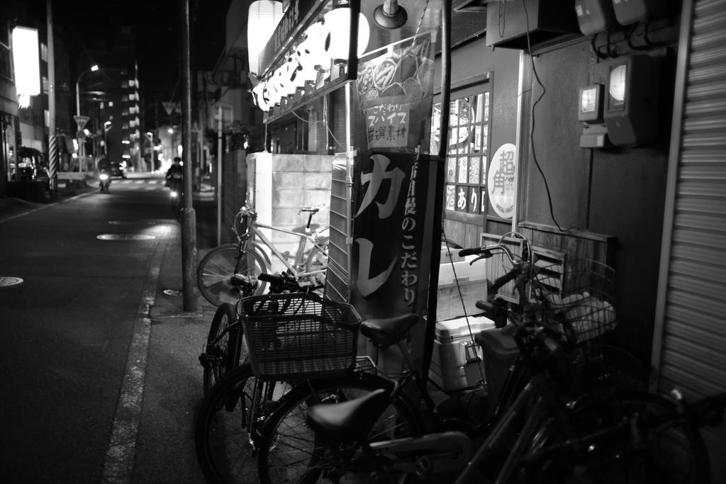 都会の狭間