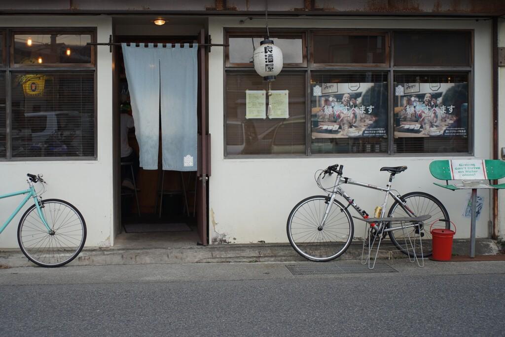 自転車のある風景 9
