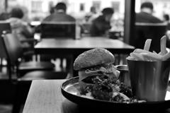 BBQ Hamburger Plate