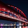 神戸大橋の夜景~ポートアイランド北公園2020①