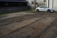 トヨタ86の駐車場