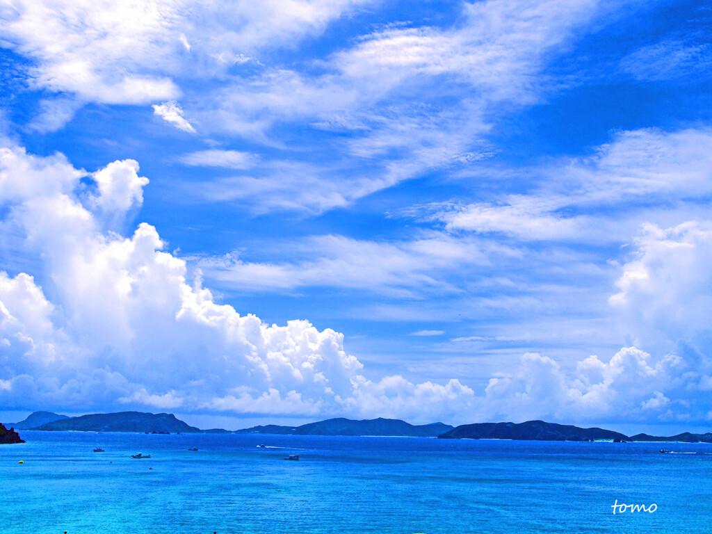 沖縄の空を想う