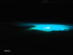 夜の海の宇宙