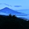 雲海の朝 日の出前