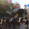 去年の渋谷