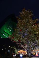 アスパムとクリスマスツリー