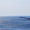黒之瀬戸から東シナ海を望む