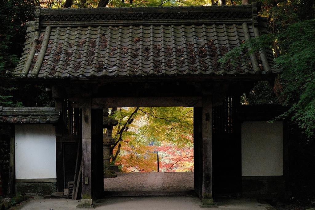 香嵐渓の紅葉・・