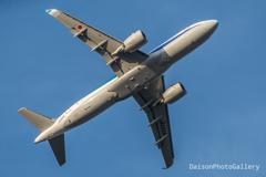 全日空 ja222a 部屋から撮る旅客機