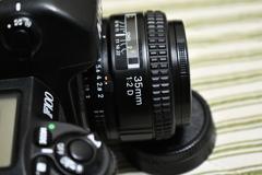 Nikon F100 Ai AF NIKKOR 35mm F2:D