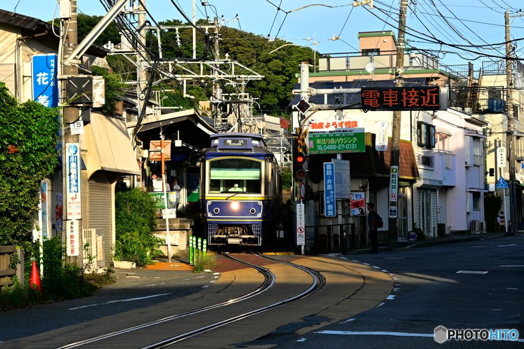 江ノ電が走る街