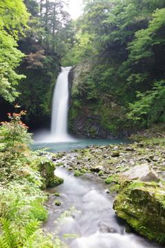 シルクの滝