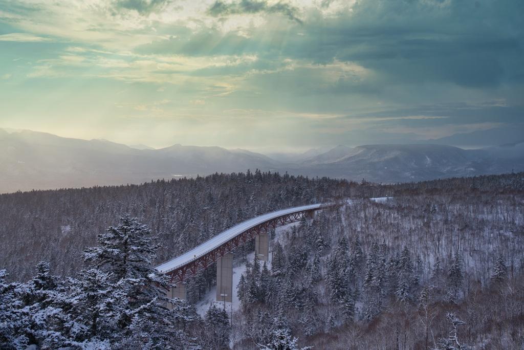 冬の三国峠