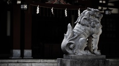 神社のスナップ 2