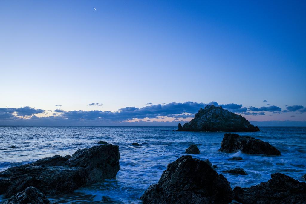 GRⅢで三日月と弥八島