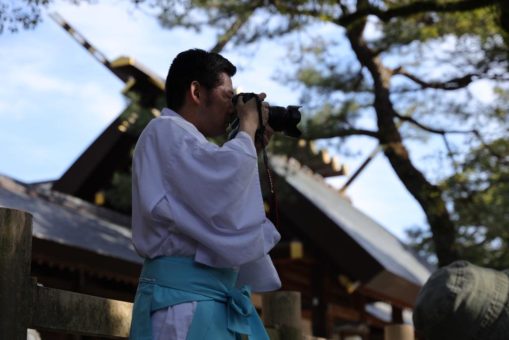 熱田神宮専属カメラマン