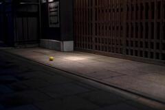 檸檬 intoroduction -- 寺町通、庇の下