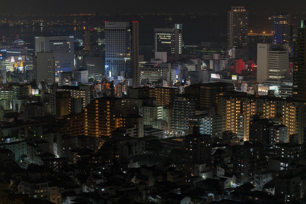 三宮・俯瞰で見る市街区の境界
