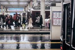 阪急梅田駅...