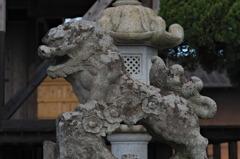 天明宮の狛犬