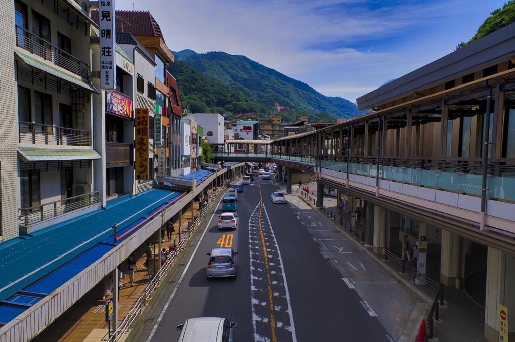 箱根の街並み