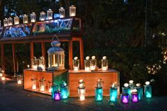 江ノ島 灯かりのある風景