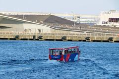 ハマの水陸両用観光バス~3