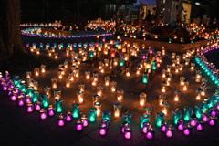 江ノ島灯かりのある風景