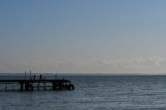 湖岸からの風景②