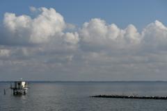湖岸からの風景①