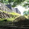 城跡への道中