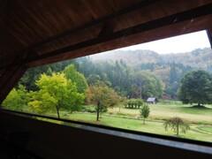 宿の窓から・・