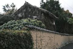 土塀と土蔵