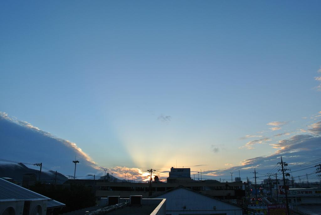 今朝の光景 9/15
