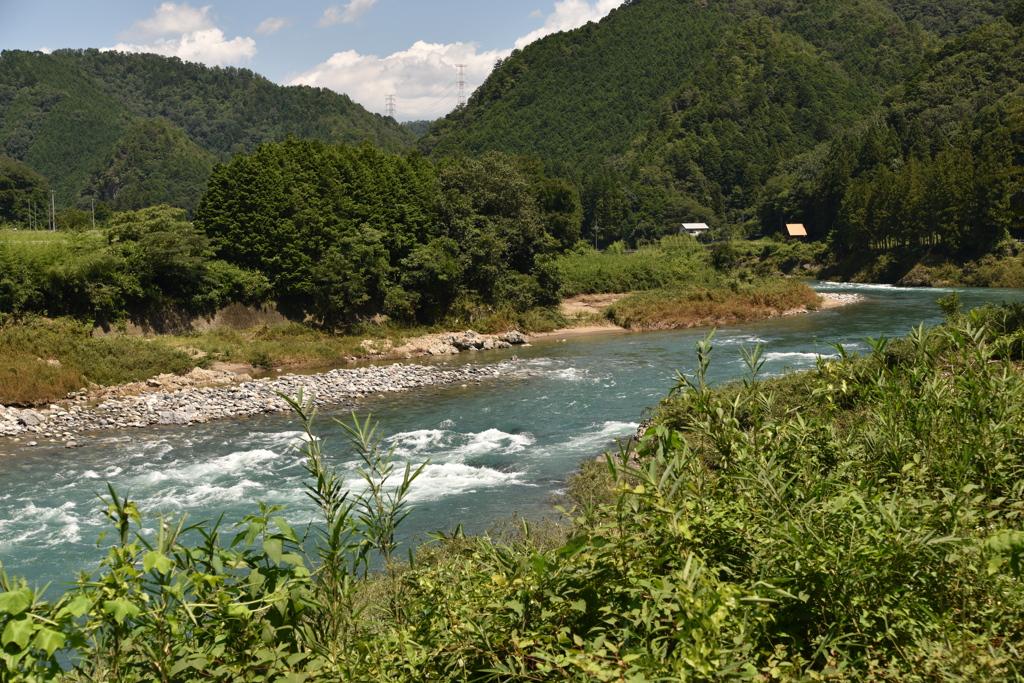 清流戻る 長良川